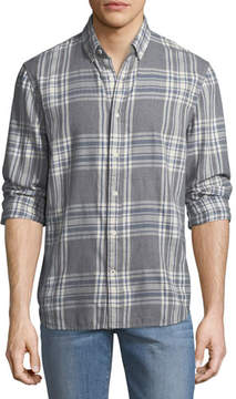 Joe's Jeans Men's Piper Herringbone Sport Shirt