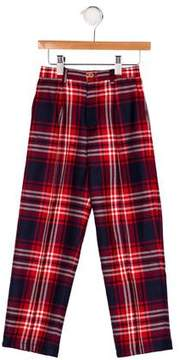 Papo d'Anjo Boys' Wool Plaid Pants