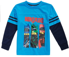 Lego Ninja-Print T-Shirt, Little Boys (4-7)