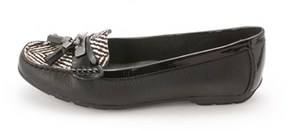 Anne Klein Womens Oates Leather Closed Toe Loafers.