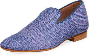 Donald J Pliner Men's Pazano Woven Straw Loafer