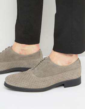 Selected Oliver Woven Suede Shoes
