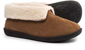 Woolrich Lodge Bootie II Slippers - Suede, Fleece Lined (For Women)