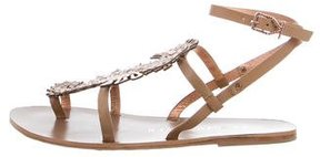 Ivy Kirzhner Seahorse Leather Sandals