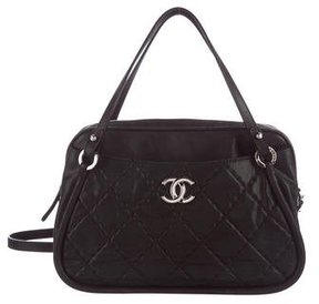 Chanel Iridescent Calfskin Bowling Bag