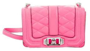 Rebecca Minkoff Mini Love Crossbody Bag - PINK - STYLE