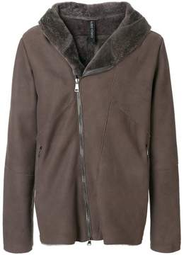 Giorgio Brato fitted shearling coat