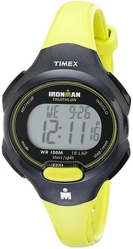 Timex Sport Ironman Green and Black Mid Size 10 Lap Watch Watches