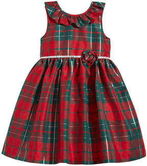 Laura Ashley Plaid Party Dress, Toddler Girls (2T-5T)