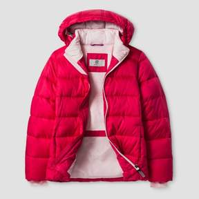 Champion Girls' Puffer Jacket Pink