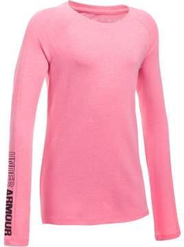 Under Armour Girls 7-16 Favorite Knit Long Sleeve Tee