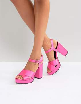 Asos HUMBLE Platform Sandals