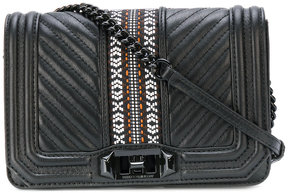 Rebecca Minkoff Aztec pattern quilted crossbody bag