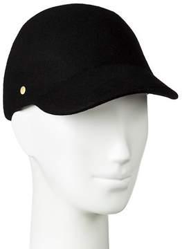 Merona Women's Felt Baseball Hat Black