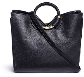 Sam Edelman 'Whitney' ring handle leather tote