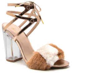 Qupid Women's Kloude-11 Sandal