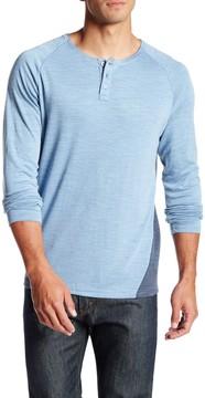 7 Diamonds Norva Long Sleeve Henley Shirt