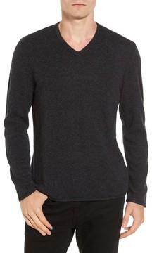 James Perse Men's Classic Cashmere V-Neck Sweater