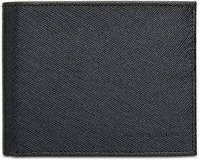 Perry Ellis Men's Saffiano Leather Passcase & Keychain