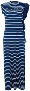 Pinko long striped dress