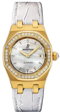 Audemars Piguet Royal Oak Automatic Diamond 18 kt Yellow Gold Ladies Watch