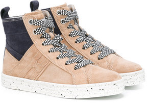 Hogan lace-up hi-top sneakers