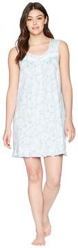 Eileen West Floral Short Chemise Women's Pajama