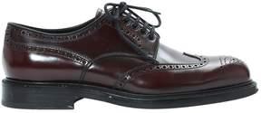 Prada Leather lace ups
