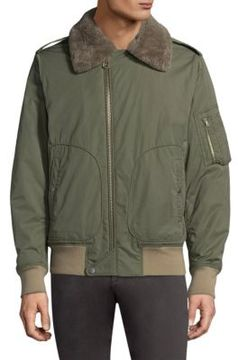 Rag & Bone Flight Zippered Jacket