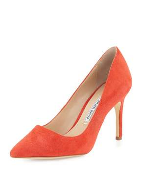 Charles David Donnie Pointed-Toe Pump, Red