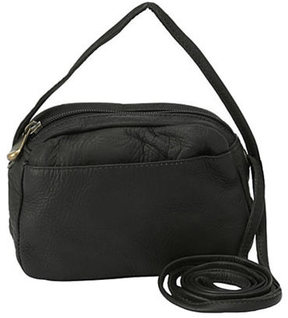 Women's David King Leather 517 Top Zip Mini Bag