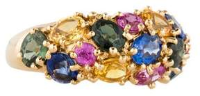 Chaumet Multi-Color Sapphire Ring