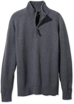 L.L. Bean L.L.Bean Signature Italian Merino Sweater, Quarter-Zip