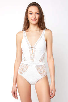 Becca Colorplay Lace One Piece Swimsuit
