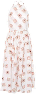 Caroline Constas Gretta Halter Flower Dress