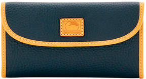 Dooney & Bourke Patterson Leather Continental Clutch - BLACK - STYLE