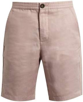 Oliver Spencer Straight-leg linen shorts