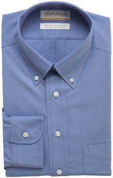 Roundtree & Yorke Gold Label Non-Iron Full-Fit Button-Down Collar Solid Dress Shirt