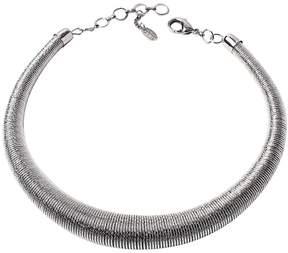 Amrita Singh Silvertone Sphere Choker Necklace