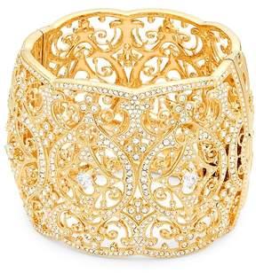 Adriana Orsini Women's Crystal Wide Bangle Bracelet
