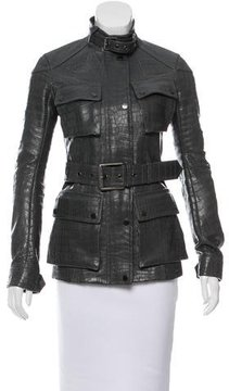 Belstaff Stanton Leather Jacket