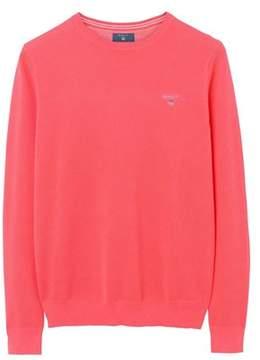Gant Men's Red Cotton Sweater.