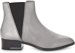 Aldo Gaudet metallic leather ankle boots
