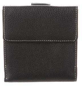 Barneys New York Barney's New York Compact Leather Wallet