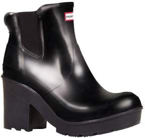 Hunter Chelsea Heeled Gloss Boots