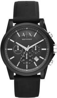 Armani Exchange AX1326 IP and Silicone Watch