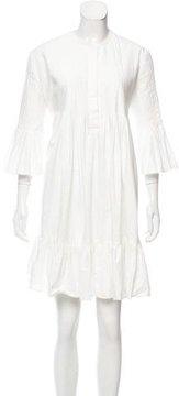 Cynthia Rowley Pleated Mini Dress