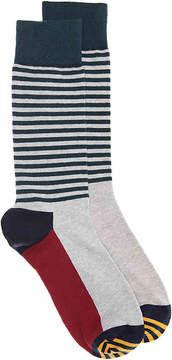 Happy Socks Men's Half Stripe Men's's Crew Socks