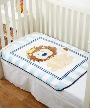 Luvable Friends 30'' x 40'' Lion High-Pile Blanket