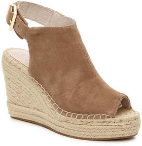 Kenneth Cole New York Women's Olivia Suede Wedge Sandal